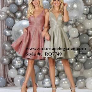 Short dress, bridesmaid dress, dama's dress, prom gala pageant, sweet 16