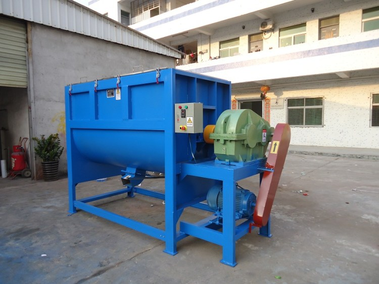 2-3T/H ribbon blender machine