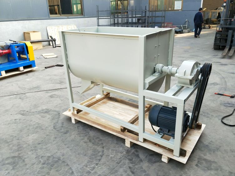 0.8-1T/H ribbon feed mixer for sale