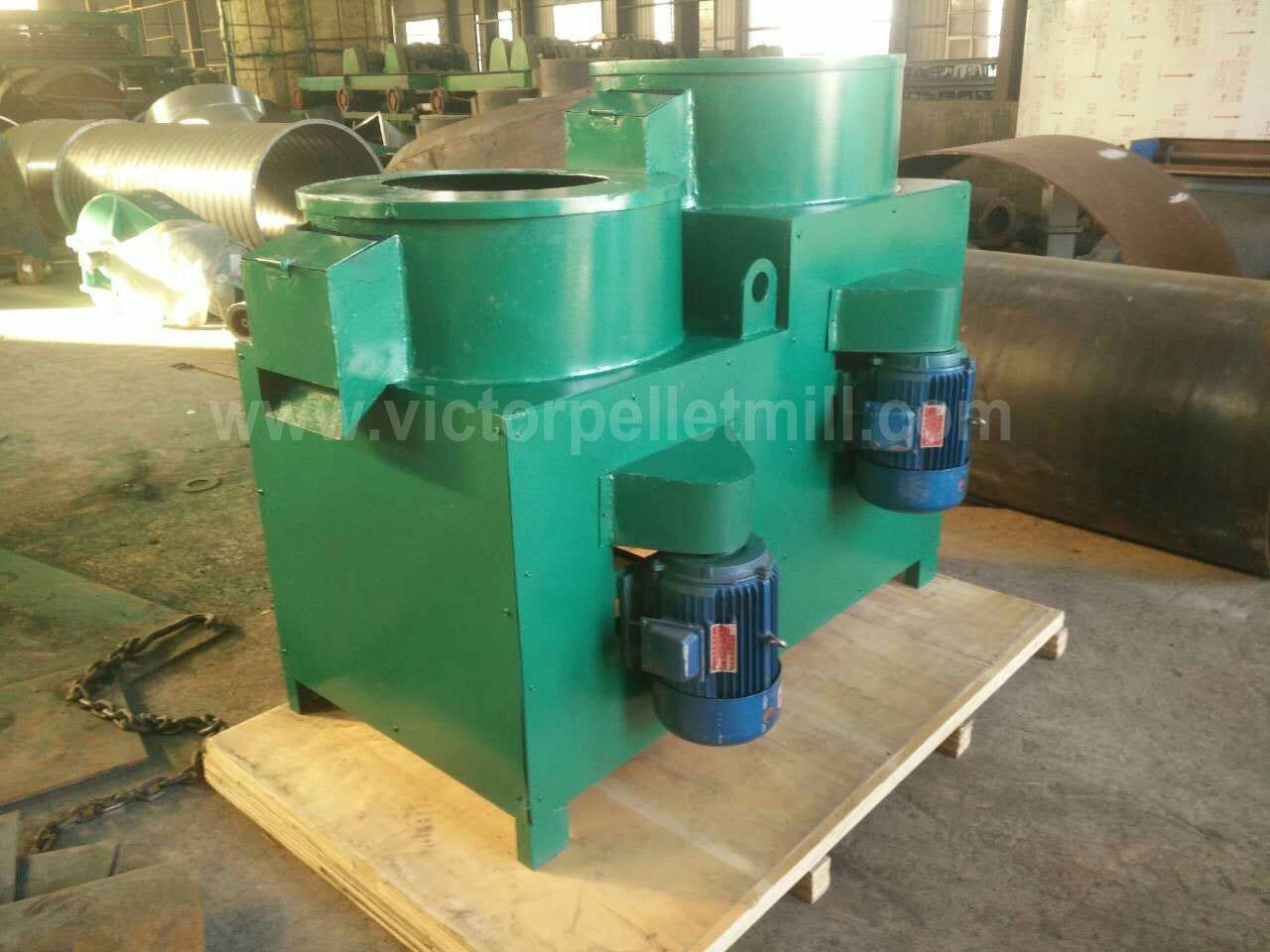 pellet polishing machine