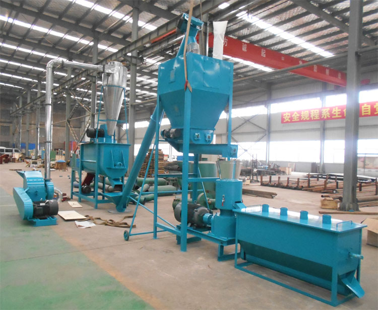 small feed production line