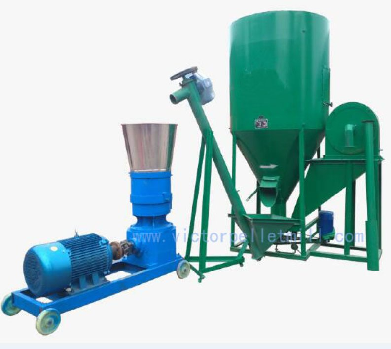 small feed production plant