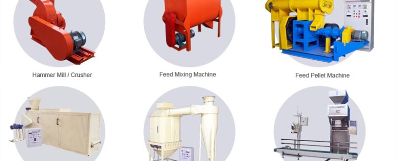 fish feed processing plant