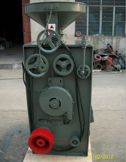 how to operate paddy rice milling machine