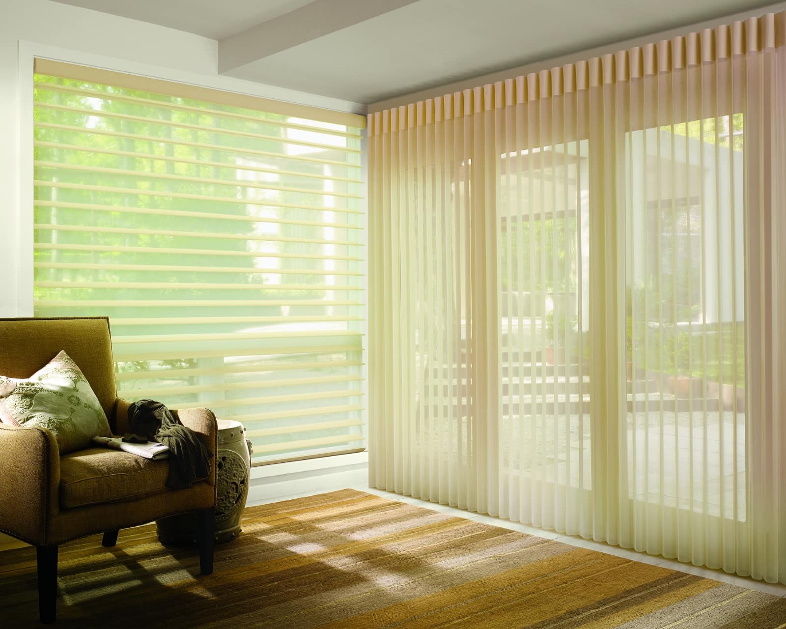Mix Amp Match Horizontal Amp Vertical Shades Create Beautiful