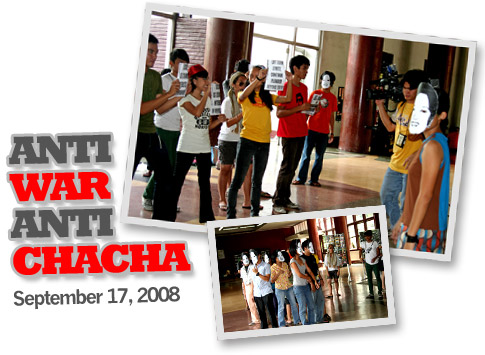 Anti-War Anti-Chacha Festival, STAND-UP, Student Alliance for the Advancement of Democratic Rights-UP