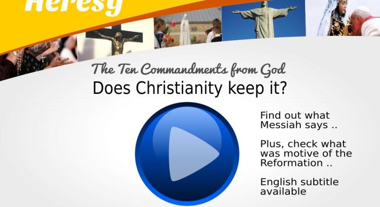Christianity is heresy