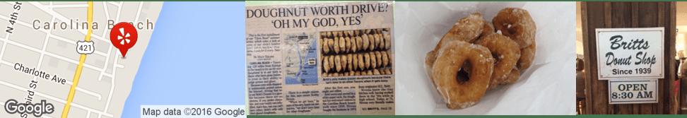 Britts Donuts, Carolina Beach, NC