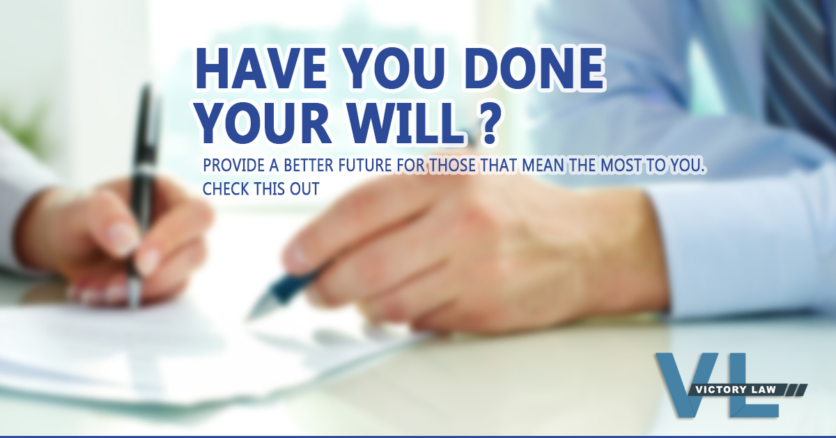 HAVE YOU DONE YOUR WILL AT AUSTRALIA?
