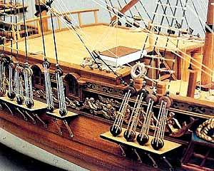 Ship Model Royal Caroline Wooden Kit Panart