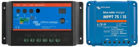 Which solar charge controller  PWM or MPPT    Victron Energy     Which solar charge controller  PWM or MPPT