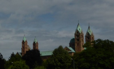 Speyer Cathedral, completed in 1111 is the largest Romanesque church remaining in Europe.