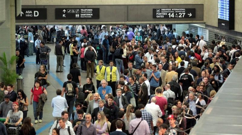 Crise aérea e o turismo