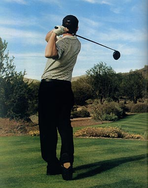 Turista de golfe