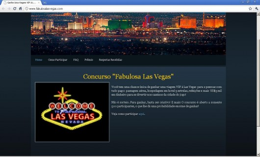 Concurso Fabulosa Las Vegas