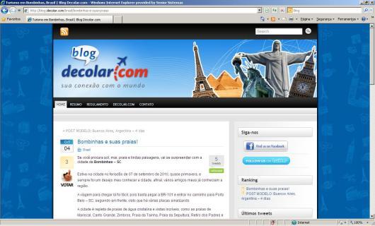 Promoção Blog Decolar.com