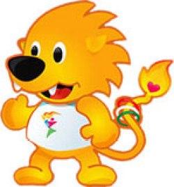 Mascote Leo - Panamericano - Guadalajara