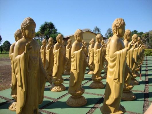 Estátuas - Templo Budista