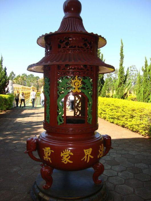 Jardim do Templo Budista