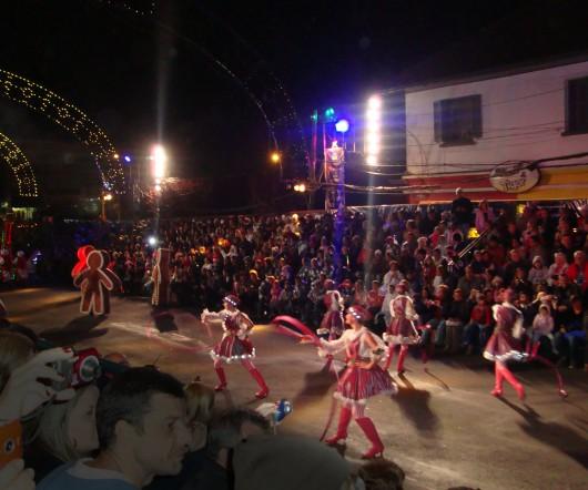 Coreografias - Desfile de Natal