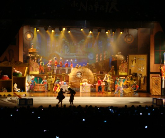 Espetáculo - Fantástica Fábrica de Natal