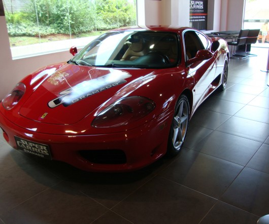 Ferrari - Supercarros - Gramado - RS