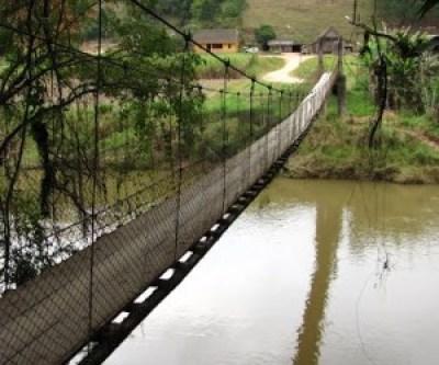 Ponte Pênsil - Benedito Novo - SC