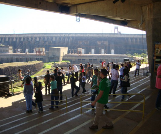 Usina de Itaipu foi palco do Test-Drive