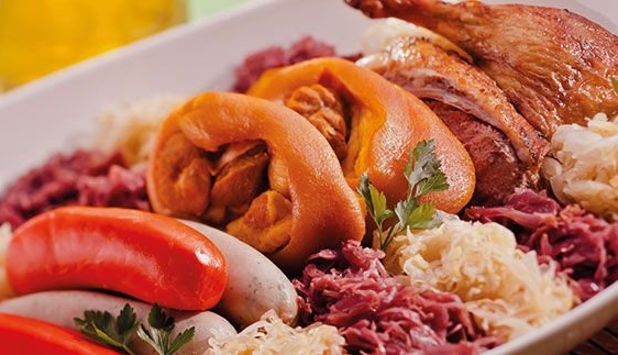 Comida típica alemã - Oktoberfest 2013