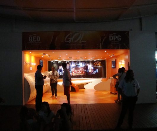 Estande da Gol - Rock in Rio 2013