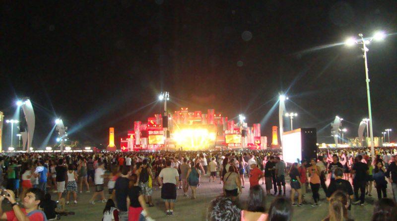 Palco Rock in Rio 2013