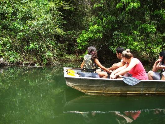 Passeio de barco - Estância Mimosa