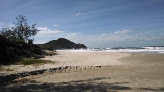 Norte da Praia do Rosa - SC