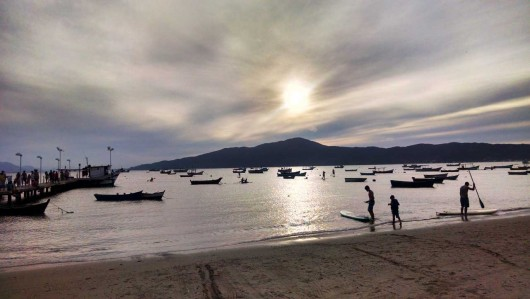 Praia de Canto Grande - Bombinhas - SC
