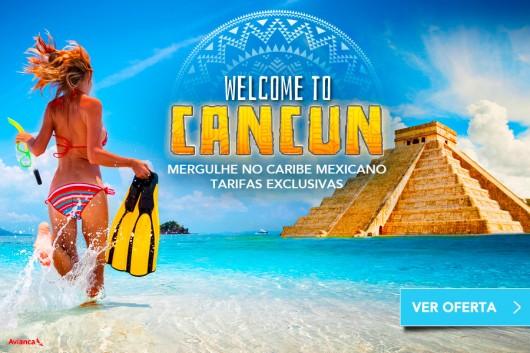 Promoção Welcome to Cancun Zarpo