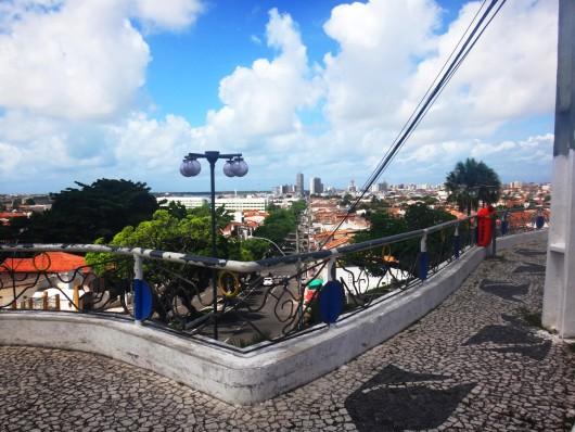 Vista da Colina do Santo Antônio - Aracaju - SE