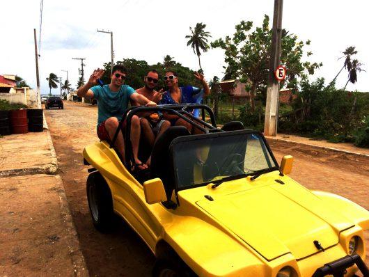 Passeio de buggy - Praia do Saco - Aracaju - SE