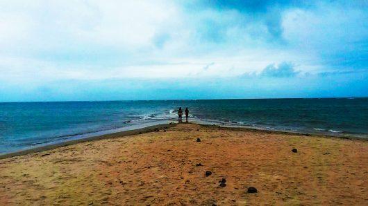 Caminho de areia - Praia de Coroa Vermelha - BA