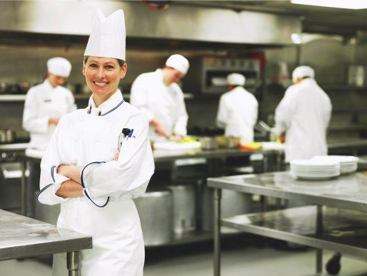 Chef de cozinha de restaurante