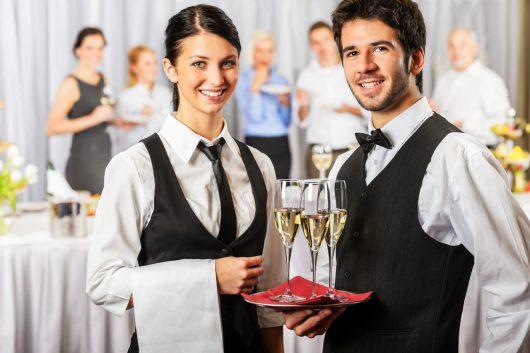 Profissão garçom de restaurante