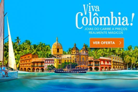 Promoção Viva Colômbia Zarpo