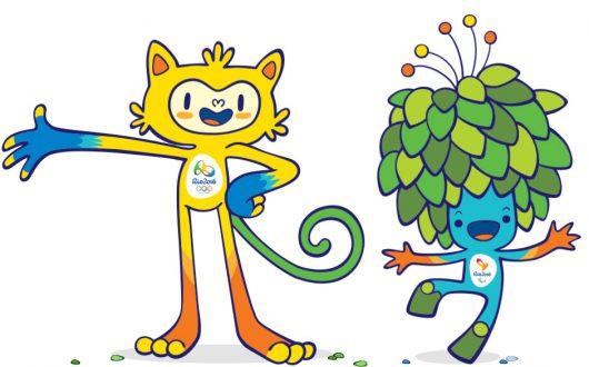 Mascotes Olimpíadas 2016