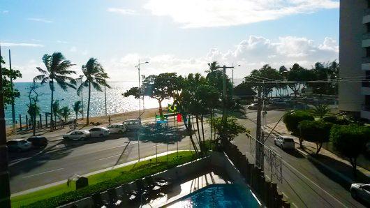 Vista do Hotel Ponta Verde - Maceió - AL