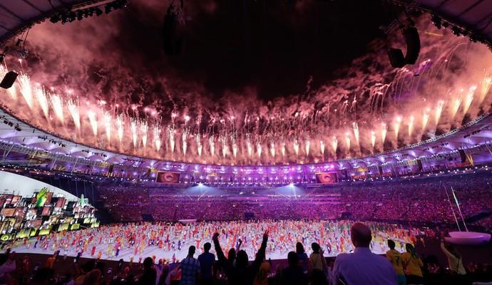Abertura das Olimpíadas 2016