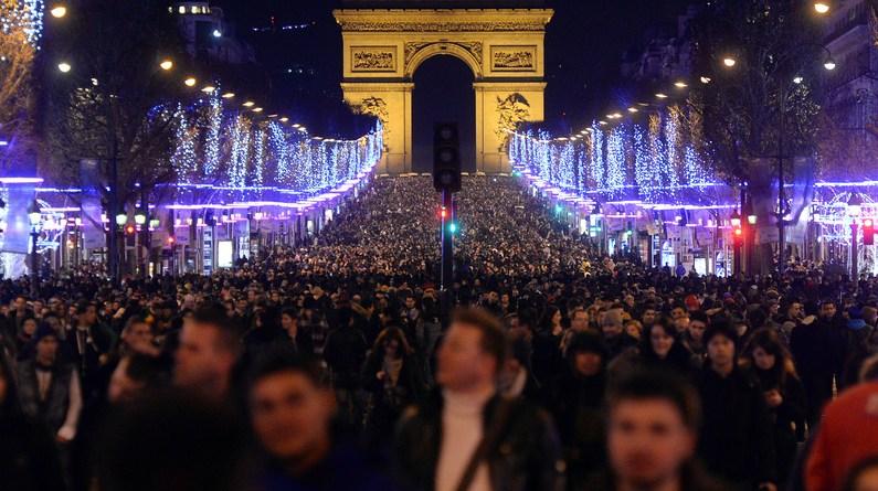 Réveillon em Paris 2017