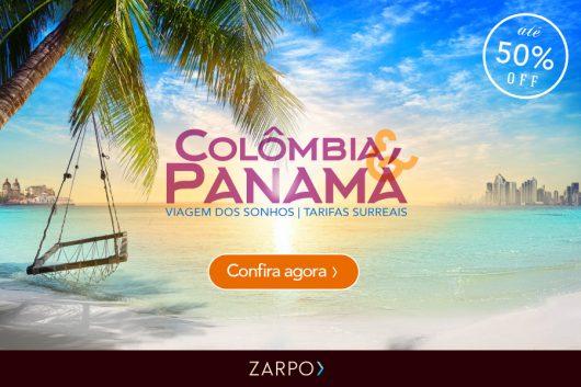 Promoção Colômbia e Panamá Zarpo