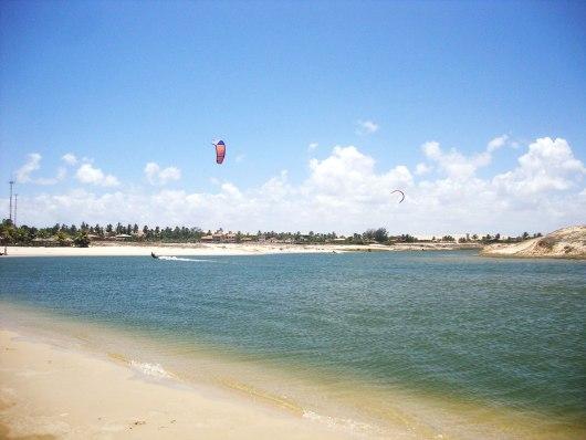 Esportes aquáticos em Morro Branco