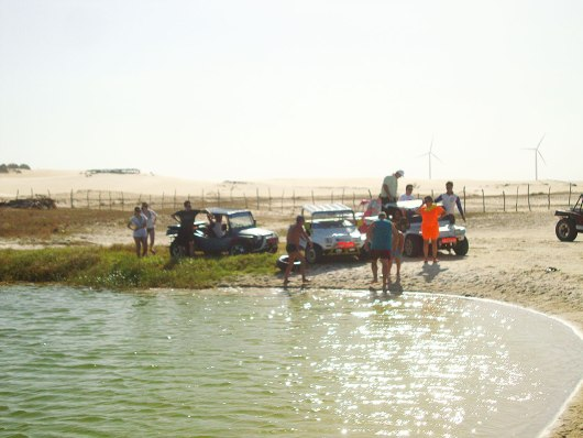 Lagoa passeio de buggy Canoa Quebrada