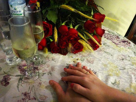 Pedido de casamento no Fazzenda Park Hotel