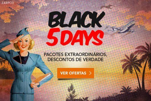 Promoção Black Five Days 2017 Zarpo
